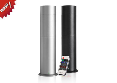 Silver / Black Cylindrical Electric Perfume Diffuser With Remote Control